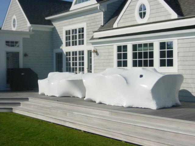 Long Island Deck Furniture Shrink Wrapper