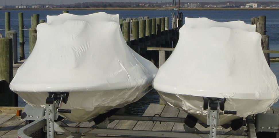 Residential Patio Furniture Shrink Wrap